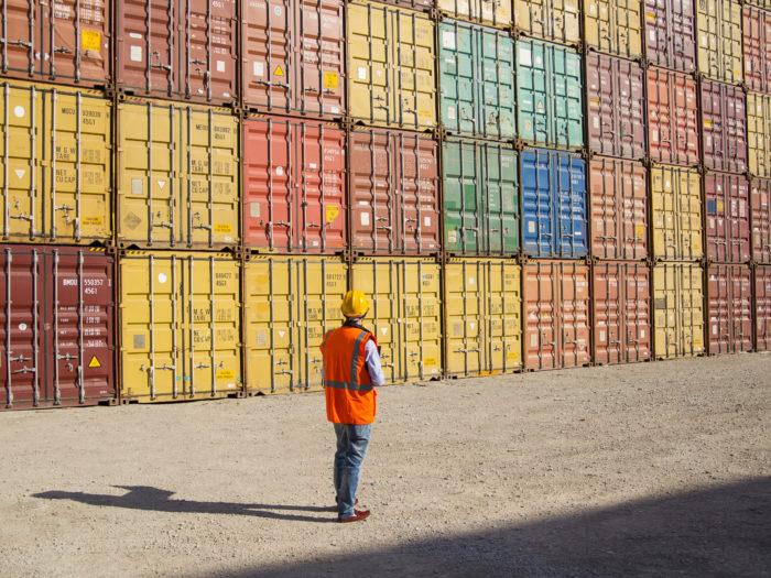Commercial docks worker.