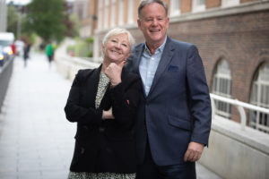 Kate Willard OBE with Perry Glading